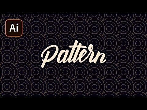 Что такое Паттерн? Adobe Illustrator