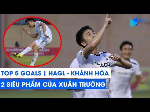 Top 5 bàn thắng của HAGL trước Khánh Hòa | Xuân Trường ghi dấu với 2 siêu phẩm sút xa | NEXT SPORTS