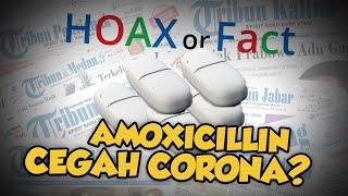 Hoax: Masukan Amoxicillin ke Dalam Tandon Dapat Tangkal Virus Corona