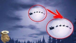 10 Santa Claus Captados En Cámara Y Vistos En La Vida Real