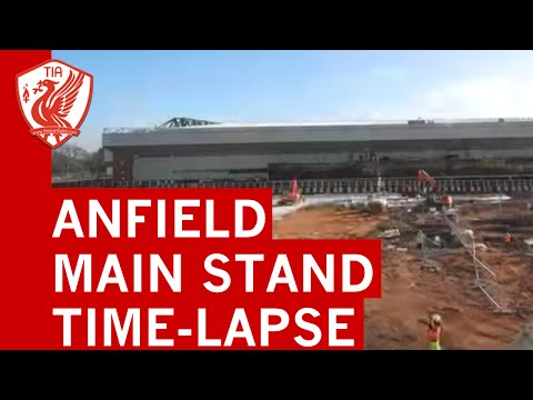 Anfield's new main stand