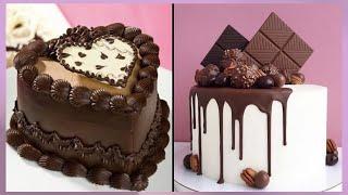 Delicious Chocolate Cake Recipes | So Yummy Chocolate Cake Decorating Ideas | Easy Chocolate Cakes