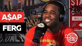 Hot 97 - A$AP Ferg Keeps It REAL On Kendrick Lamar + Addresses A$AP Bari Situation