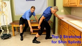 Top 3 Stretches for Shin Splints (plus one new treatment)