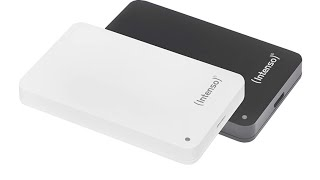 Mein Datengrab - Intenso Memory Case 1 TB Externe Festplatte Unboxing & Benchmark