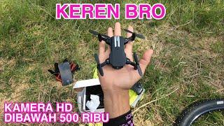Review LS-MIN Mini Drone Murah Kamera HD