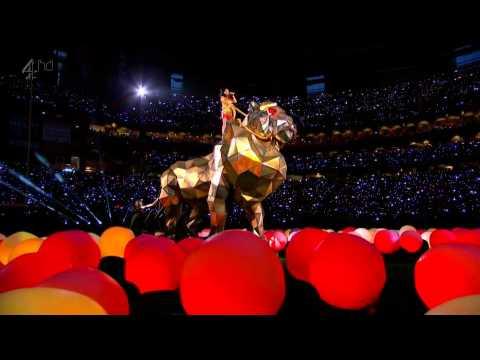 Katy Perry  Roar  Intro Lion 2015 HD Super Bowl