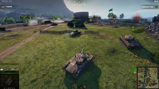 World of Tanks. Линия Фронта. Т-32.