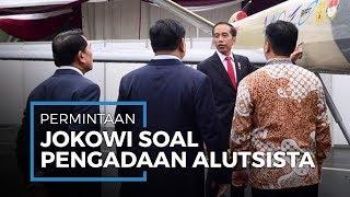 Pengajuan Alutsista, Presiden Jokowi Minta TNI Terapkan Sistem Persenjataan Modern