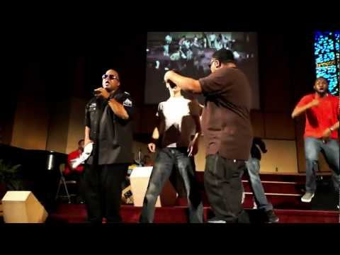 """Everlasting Souljas perform """"Show The Devil You Ain't Scared"""" live at Unity Outreach concert"""