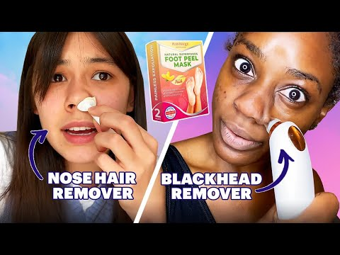 We Try The Grossest Beauty Products On The Internet