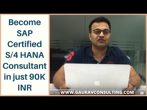 Become SAP Certified S/4 HANA Consultant in just 90K INR ...
