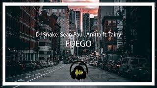 DJ Snake, Sean Paul, Anitta Ft. Tainy   Fuego (SubtituladaLetra En Español)