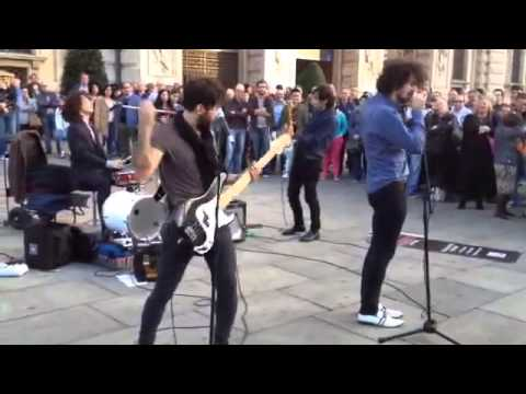 The Buskers Street Band ROCK AND ROLL AND ALL! Torino Musiqua