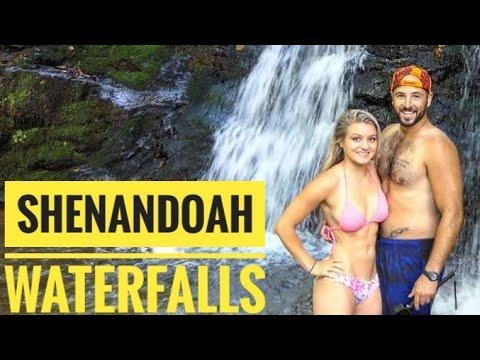 Hiking Shenandoah National Park and Waterfalls.