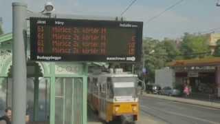 FUTÁR - Valós idejű utazási információk a megállókban, a járműveken és a kezedben