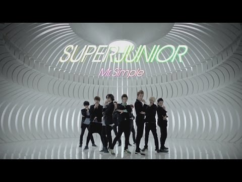 Super Junior - Mr.Simple (Jap. Version)