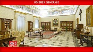 Udienza Generale 03 giugno 2020 Papa Francesco