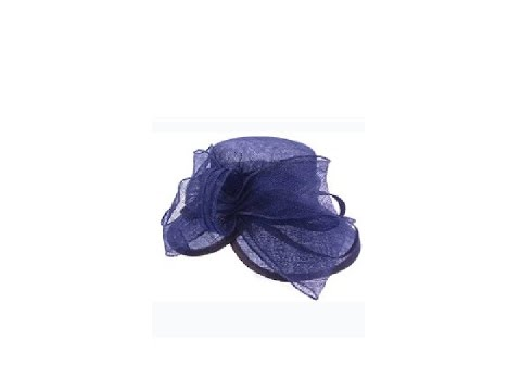 Navy Blue Wedding Hats