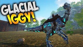 ᐈ Ark: Survival Evolved - Glacial Iguanodon (Modded Ark Pugnacia