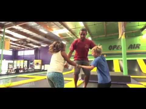 Get Air Vista Trampoline Park Features