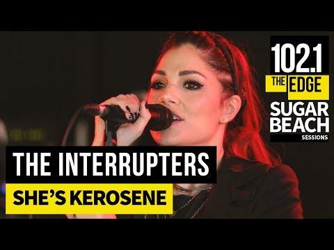The Interrupters - She's Kerosene (Live at the Edge)