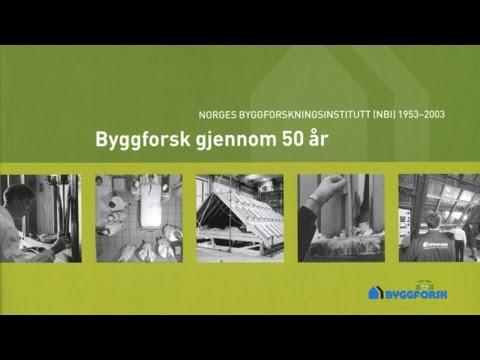 SINTEF Byggforsks historie
