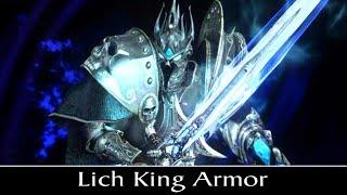 Skyrim Special Edition: ▶️Lich King Armor◀️ Mini Mod Showcase