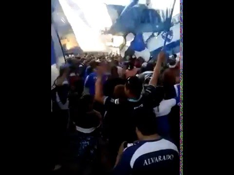 """""""PREVIA - LA BRAVA - MAR DEL PLATA - ARGENTINA ."""" Barra: La Brava • Club: Alvarado"""