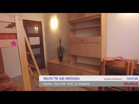 Video Pronájem bytu 2+kk v osobním vlastnictví 41 m², Kladno