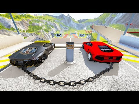 High Speed Jump Crashes BeamNG Drive Compilation #10 (BeamNG Drive Crashes) (видео)