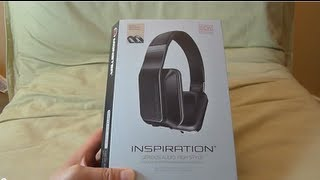 """""""First Look"""" Monster Inspiration (Passive Noise Isolating) headphones unboxing"""