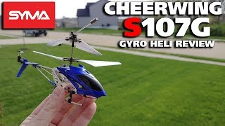 Cheerwing Syma S107G Gyro R/C Helicopter Review