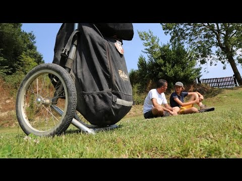 The Camino with a Hiking Trailer | Radical Design