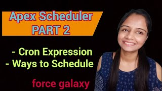 Apex Scheduler Part II | Asynchronous Apex | Salesforce Video Tutorial