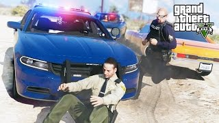 GTA 5 Roleplay | DOJ #18 - (LEO) Whose Gun Is It Anyway?