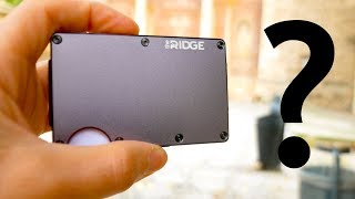 Is This Titanium Wallet Worth $100? The Ridge Review!