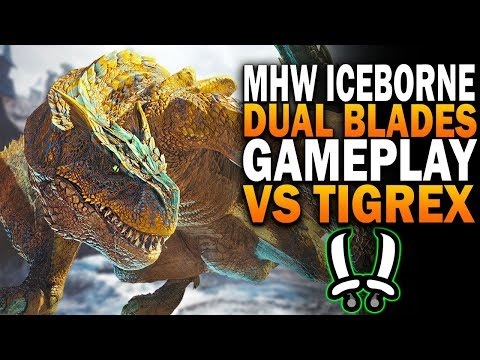 I Got To Fight Tigrex In Monster Hunter World Iceborne