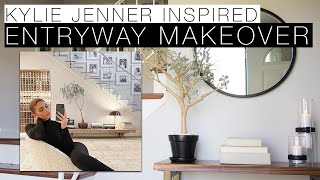 KYLIE JENNER INSPIRED ENTRYWAY MAKEOVER ON A BUDGET | DIY & GETTING CREATIVE DURING QUARANTINE