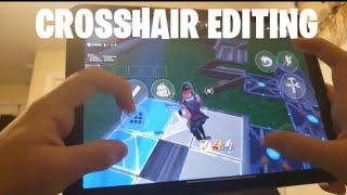 crosshair editing fortnite mobile - TH-Clip