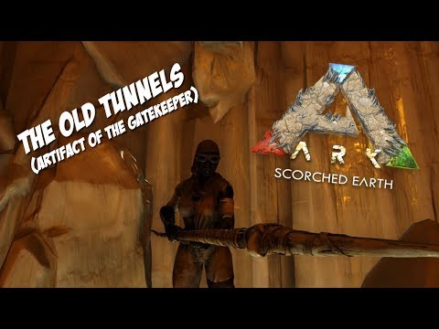 Download Exploring The Old Tunnels Cave For The Gatekeepers Artifact