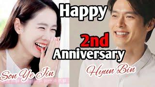 Happy 2nd Anniversary l Hyun Bin  ❤️  Son Ye-jin - 현빈 ❤️ 손예진