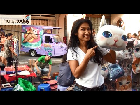 Rose's Favorites - Only in Phuket Old Town can you get a history lesson while shopping for cat pillows