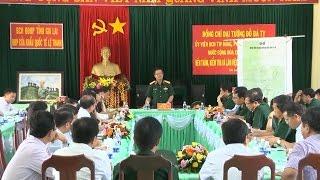Phó Chủ tịch Quốc hội Đỗ Bá Tỵ kiểm tra công tác bảo đảm an ninh quốc phòng trên tuyến biên giới