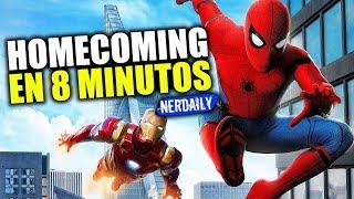 Spider-Man: Homecoming EN 8 MINUTOS (Míralo antes de ver Far From Home)