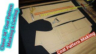 Coat Pattern Making Video | Coat Pattern Making | Blazer Pattern Making