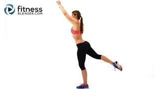 100 Rep Lunge Challenge - Thigh Toning, Butt Lifting Lunge Workout with No Equipment