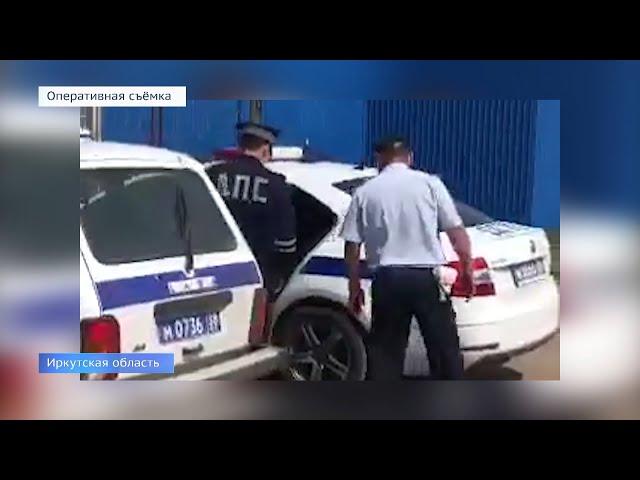 В Приангарье задержан пьяный водитель без прав