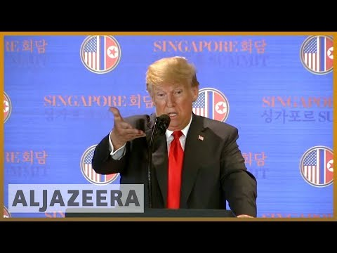 🇺🇸 🇨🇦 Donald Trump: Trudeau's criticism will cost Canada 'a lot' | Al Jazeera English