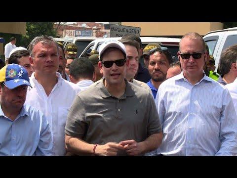 Rubio says Venezuelan aid-blockade is